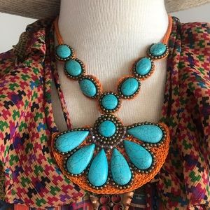 Accessories - Handmade turquoise necklace